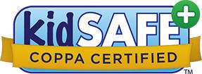 KidSAFE COPPA Certified Logo